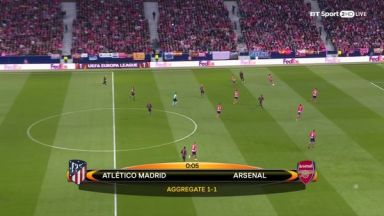 Full match: Atletico Madrid vs Arsenal