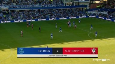 Full match: Everton vs Southampton