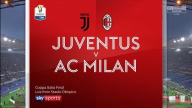 Full match: Juventus vs AC Milan