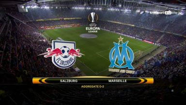 Full match: Salzburg vs Olympique Marseille