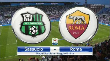 Full match: Sassuolo vs Roma