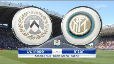 Full match: Udinese vs Inter Milan
