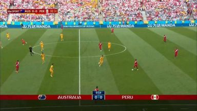 Full match: Australia vs Peru