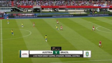 Full match: Austria vs Brazil