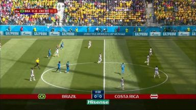 Full match: Brazil vs Costa Rica