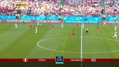 Full match: Peru vs Denmark