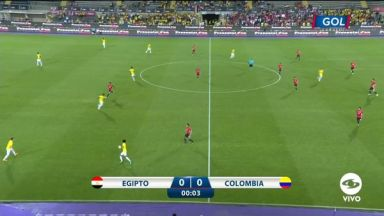 Full match: Egypt vs Colombia