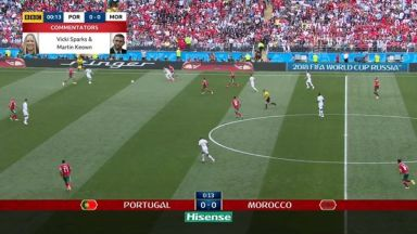 Full match: Portugal vs Morocco
