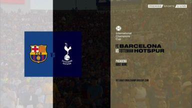 Full match: Barcelona vs Tottenham Hotspur