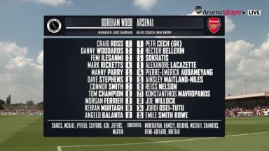 Full match: Boreham Wood vs Arsenal
