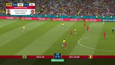 Full match: Brazil vs Belgium