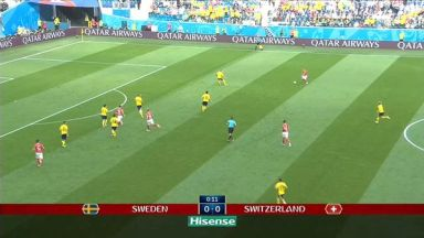 Full match: Sweden vs Switzerland