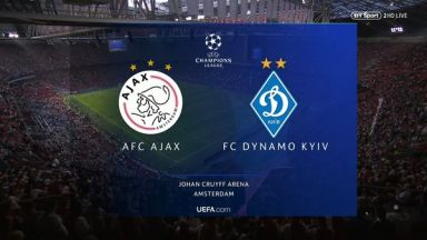 Full match: Ajax vs Dynamo Kyiv