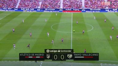 Full match: Atletico Madrid vs Rayo Vallecano