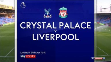Full match: Crystal Palace vs Liverpool