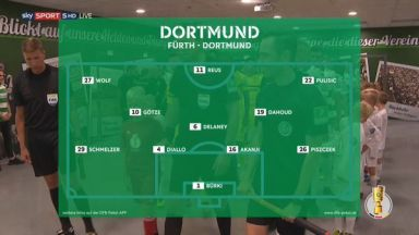Full match: Greuther Fürth vs Borussia Dortmund