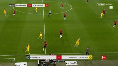 Full match: Hannover 96 vs Borussia Dortmund
