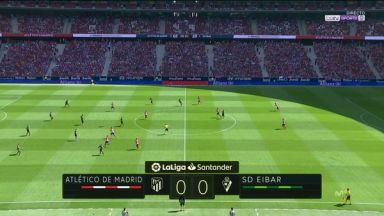 Full match: Atletico Madrid vs Eibar