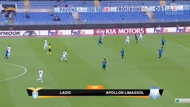 Full match: Lazio vs Apollon