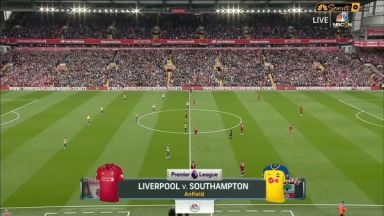 Full match: Liverpool vs Southampton