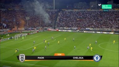Full match: PAOK vs Chelsea