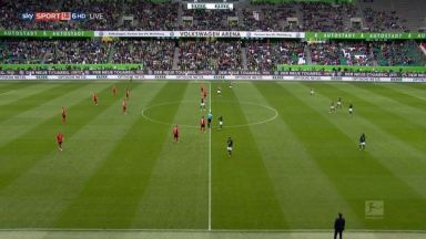 Full match: Wolfsburg vs Freiburg
