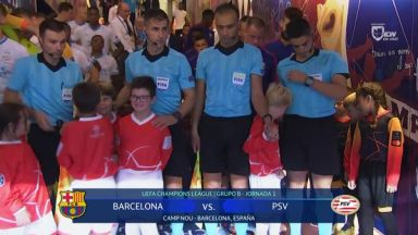 Full match: Barcelona vs PSV