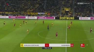 Full match: Borussia Dortmund vs Nurnberg