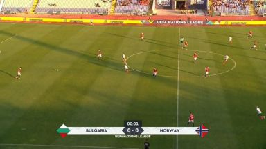 Full match: Bulgaria vs Norway