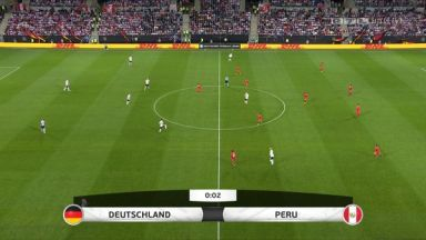 Full match: Germany vs Peru