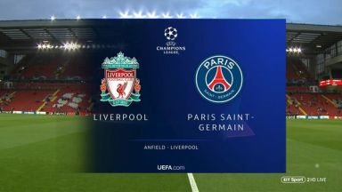 Full match: Liverpool vs PSG