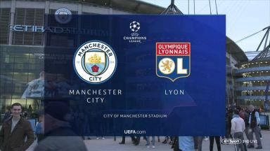 Full match: Manchester City vs Olympique Lyonnais