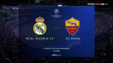Full match: Real Madrid vs Roma