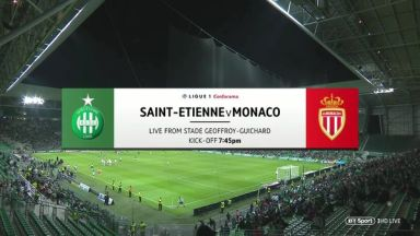 Full match: Saint-Etienne vs Monaco