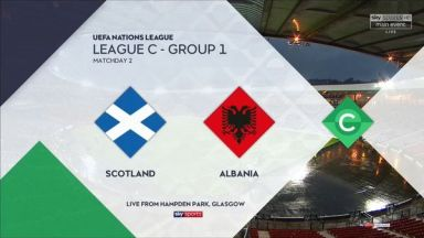 Full match: Scotland vs Albania