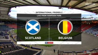 Full match: Scotland vs Belgium