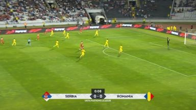 Full match: Serbia vs Romania