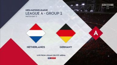 Full match: Netherlands vs Germany