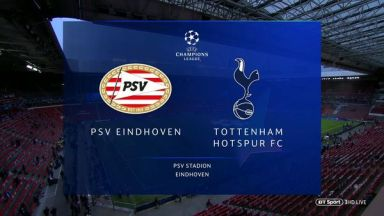 Full match: PSV vs Tottenham Hotspur