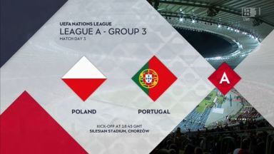Full match: Poland vs Portugal