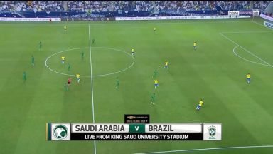 Full match: Saudi Arabia vs Brazil