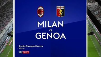 Full match: AC Milan vs Genoa