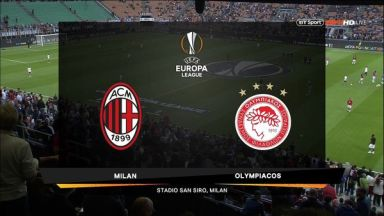 Full match: AC Milan vs Olympiakos Piraeus