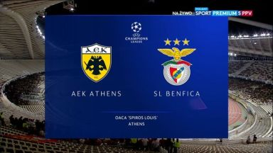 Full match: AEK Athens vs Benfica