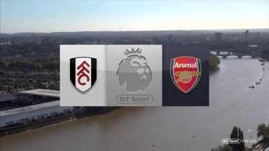 Full match: Fulham vs Arsenal