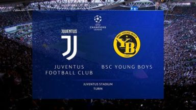 Full match: Juventus vs Young Boys