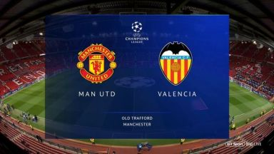 Full match: Manchester United vs Valencia