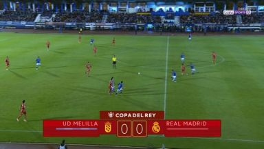 Full match: Melilla vs Real Madrid
