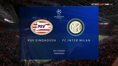Full match: PSV vs Inter Milan