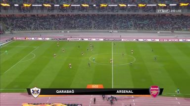 Full match: Qarabag vs Arsenal